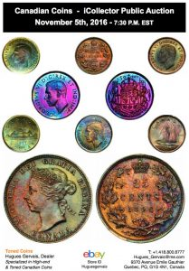 Toned Coins Collection