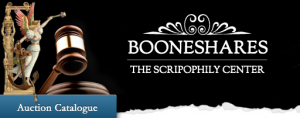 Booneshares - Intern. Auction & Bourse of Antique Shares & Bonds in Antwerp