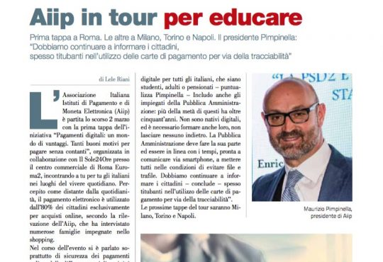 Aiip in tour per educare