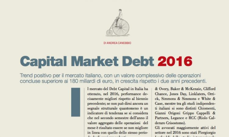 Capital Market Debt 2016