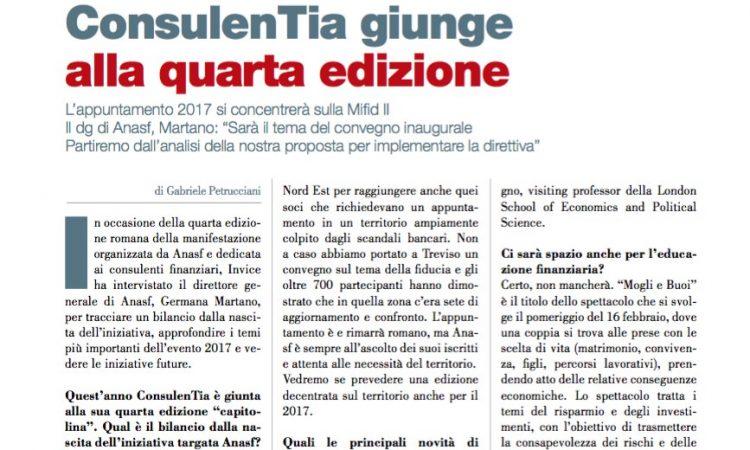 ConsulenTia giunge alla quarta edizione