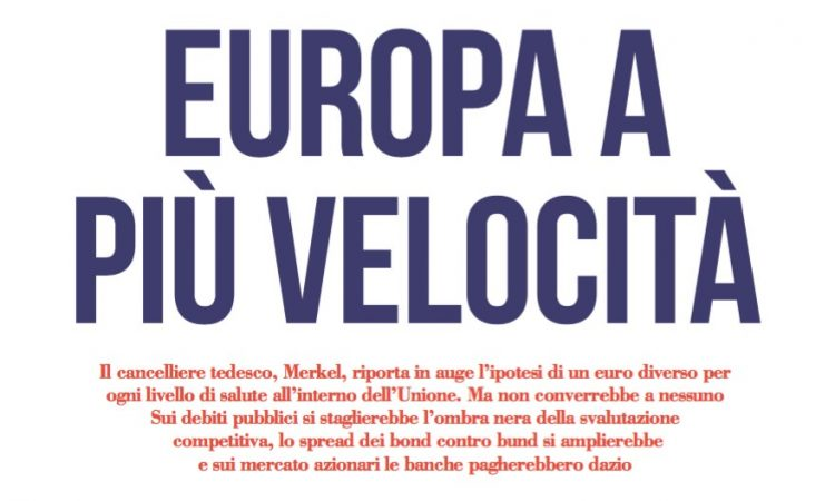 Europa a più velocità