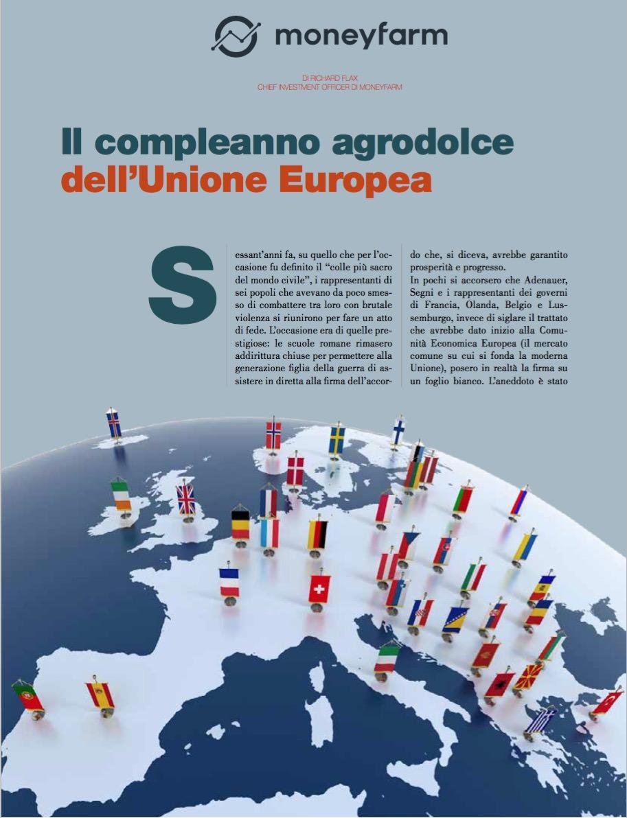 Il compleanno agrodolce dell'Unione Europea