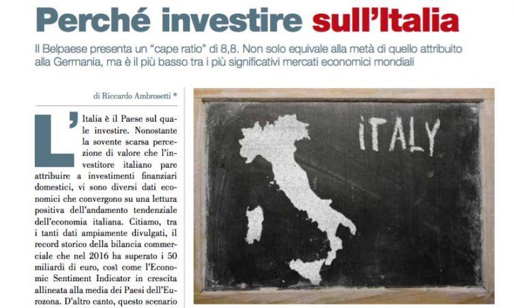 Perché investire sull'Italia