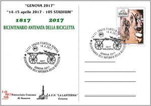 GENOVA 2017  Manifestazione filatelica - numismatica - cartofila