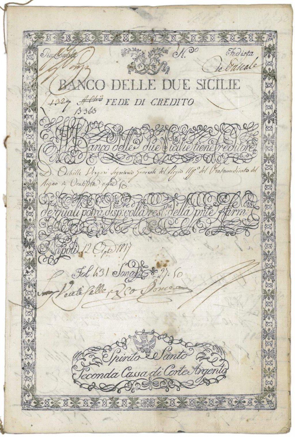 Azioni ed obbligazioni storiche in mostra a Palermo • Scripomarket