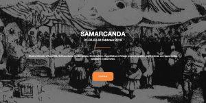 SAMARCANDA Mostra mercato