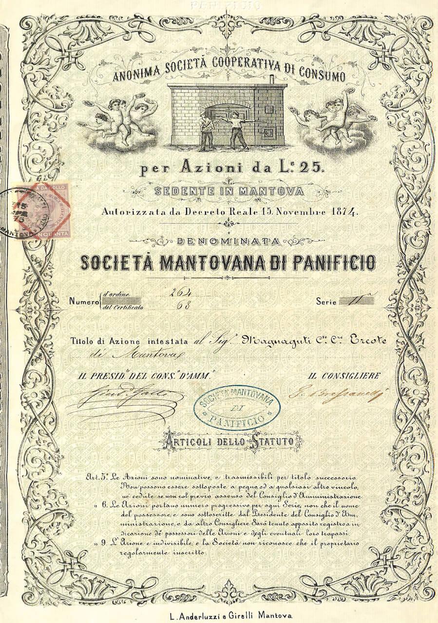 Anonima società cooperativa di consumo denom. Soc. Mantovana di panificio 1874 (di Alberto Puppo) 3
