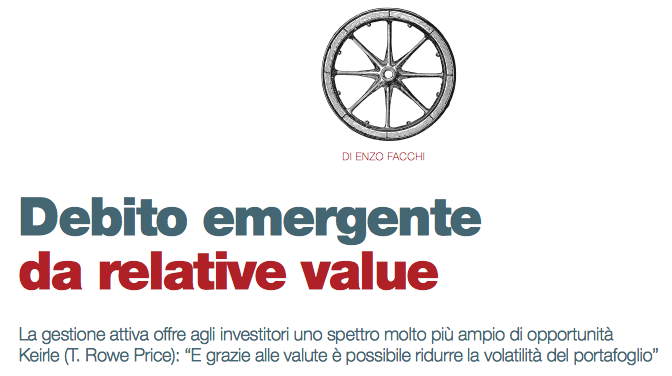Debito emergente da relative value