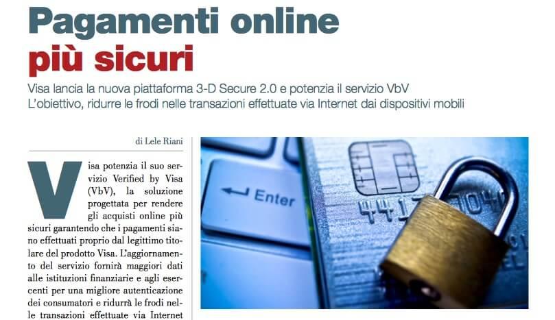 Pagamenti online più sicuri (di Lele Riani)