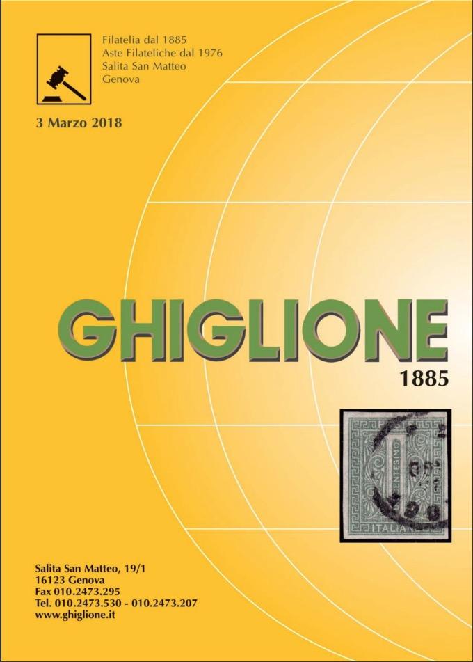 Ghiglione - Asta Filatelica marzo 2018