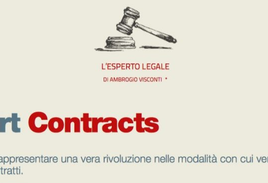 Smart Contracts (L ESPERTO LEGALE di Ambrogio Visconti)