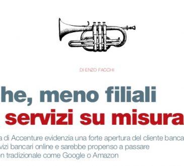 Banche, meno filiali e più servizi su misura (di Enzo Facchi)