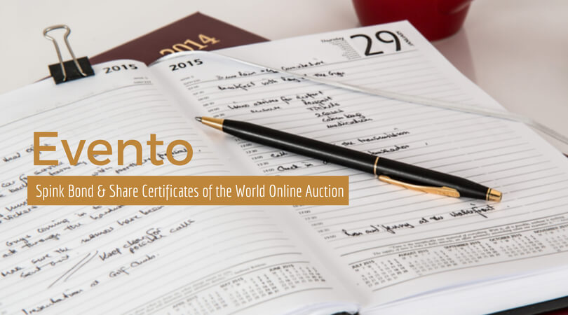 Spink Bond & Share Certificates of the World Online Auction