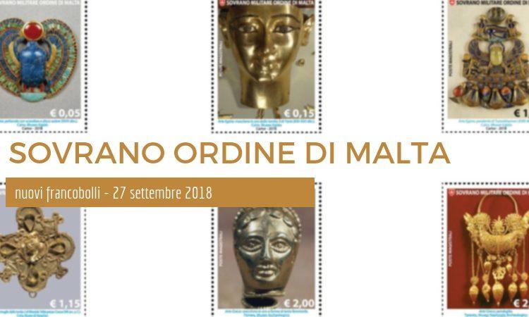 Storia dell'Orificeria i nuovi Francobolli del Sovrano Ordine di Malta – 27 settembre 2018