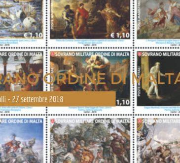 Nuovi francobolli del Sovrano Ordine di Malta - 27 settembre 2018