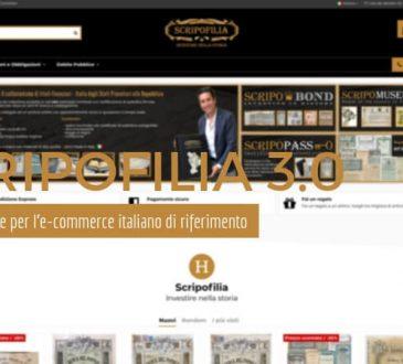 scripofilia 3.0 - Nuovo portale per l'e-commerce di riferimento in Italia