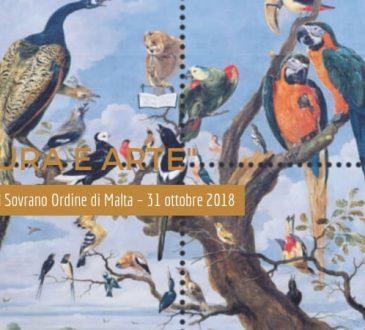 Natura e arte i nuovi Francobolli del Sovrano Ordine di Malta – 31 ottobre 2018
