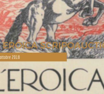 Asta Eroica Scripoauctions - 100 lotti - 9 ottobre 2018