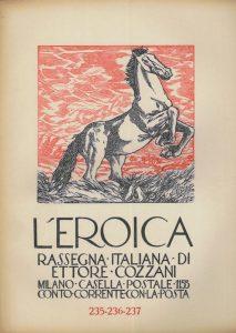 Ettore Cozzani - L'Eroica n. 235-236-237 (in memory of D'Annunzio) - 1938
