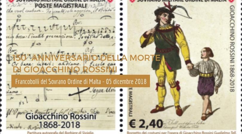 150° Anniversario della morte di Gioacchino Rossini - 5 dicembre 2018