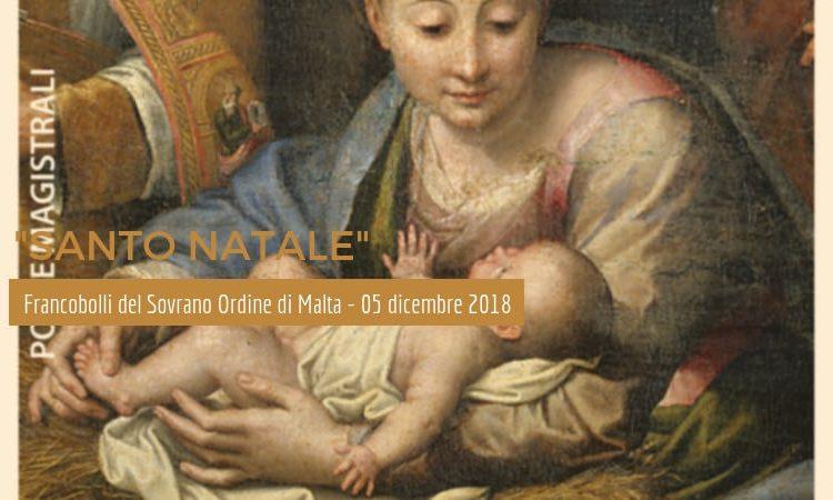 """""""Santo Natale"""" – I francobolli del Sovrano Ordine di Malta – 5 dicembre 2018"""