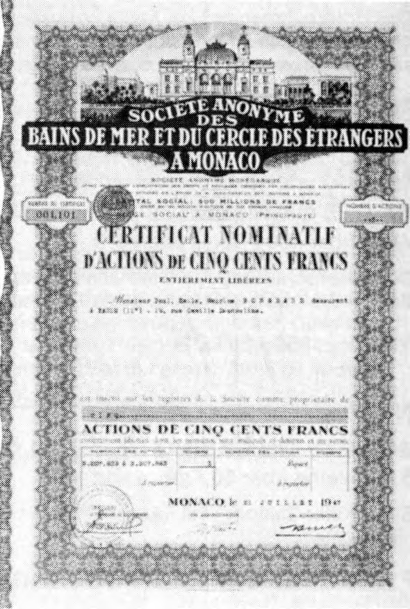 Calendario 1946.The Montecarlo Story Scripomarket