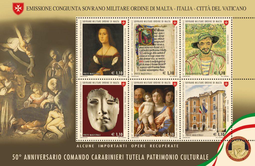50° anniversario dell'istituzione del comando carabinieri per la tutela del patrimonio culturale