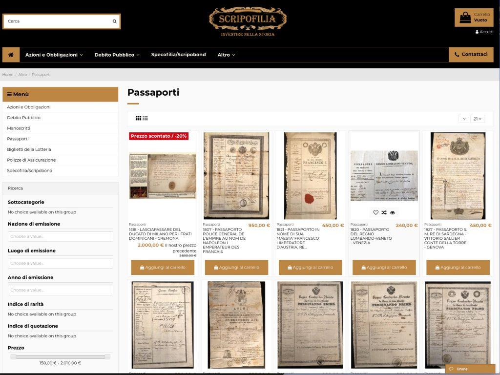 Lasciapassare, salvacondotti, lettere patenti e carte di sicurezza