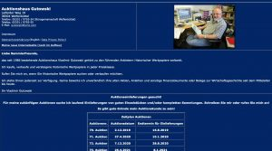 Gutowski Mail Bid Auction – Germany
