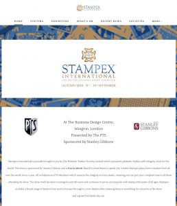 STAMPEX INTERNATIONAL EXHIBITION @ London Hilton Angel Islington 4 | England | Regno Unito