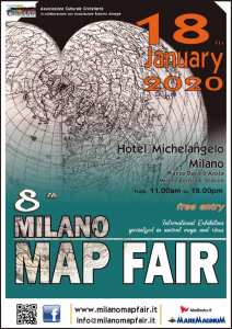 Milano - Map Fair - 18 Gennaio 2020 Presso Hotel Michelangelo @ Hotel Michelangelo | Milano | Lombardia | Italia