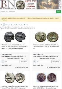 Brumus Numismatica asta elettronica 13 ottobre @ Brumus Numismatica di Luca Brumurelli | Borgosesia | Piemonte | Italia