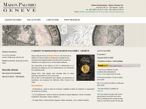 Maison Palombo Geneve il 17 novembre 2019 asta numismatica @ Hotel President Wilson à Geneve