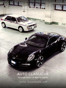 Asta Bolaffi: AUTO CLASSICHE Classic Motor Vehicles YOUNGTIMERS & MEMORABILIA @ Garage Bolaffi | Torino | Piemonte | Italia